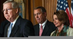 Boehner, Congressional Leaders Meet To Sign Bill On Strengthening Medicare