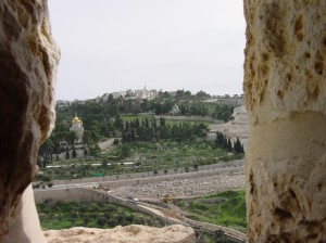 Congressmen and Hoenlein attacked on Mount of Olives